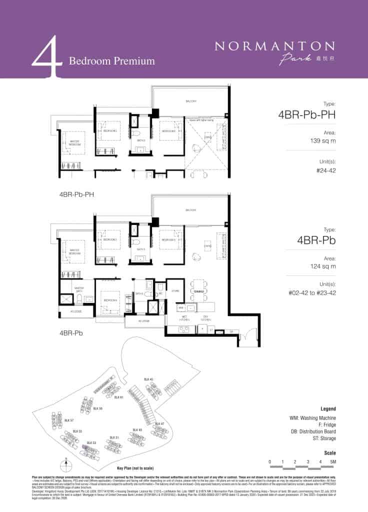 Normanton Park Floor Plan Type 4BR-Pb