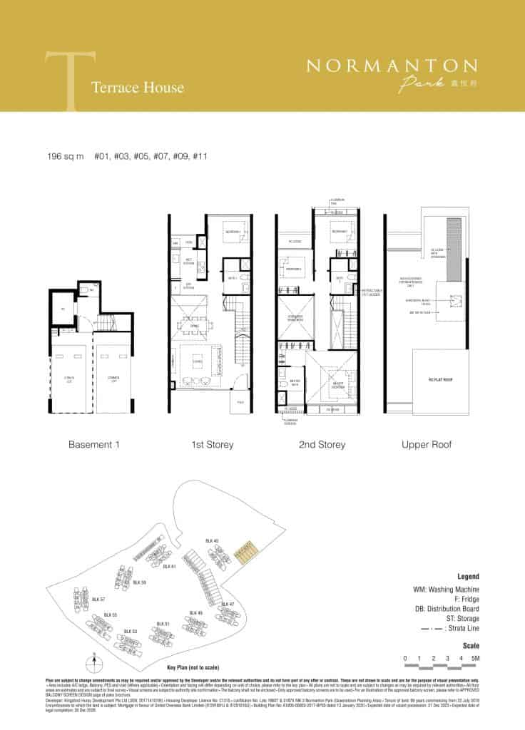 Normanton Park Floor Plan Type Terrace 1