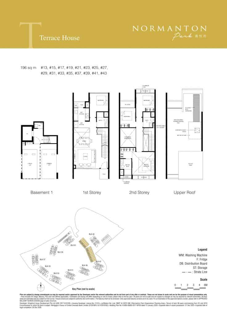 Normanton Park Floor Plan Type Terrace 2